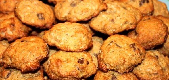 Печенье с бананами рецепт пошагово