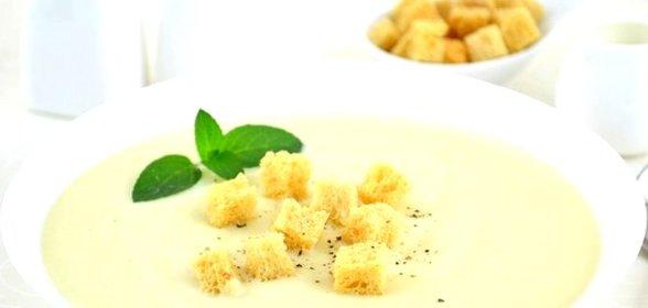 Суп из кабачков и цветной капусты  пошаговый рецепт с