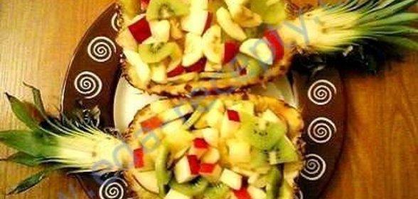 Фруктовые салаты на день рождения