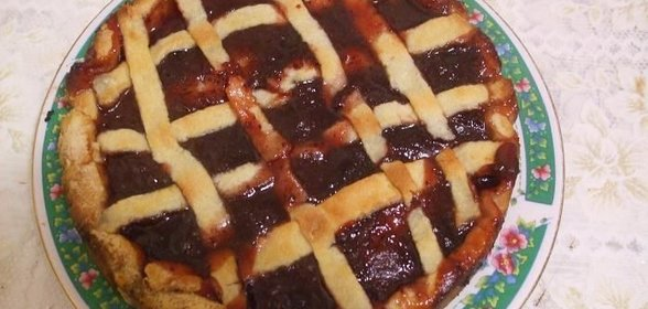 Простой вкусный пирог с вареньем рецепт с