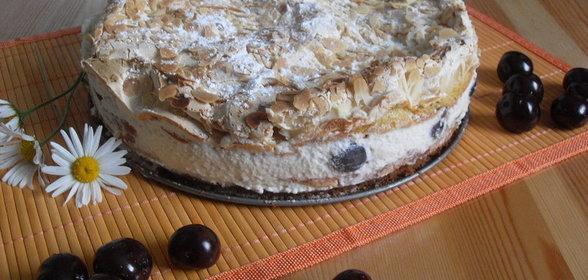 Простой торт с безе рецепт фото