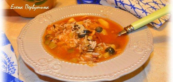 Солянка рецепт с пошагово с рисом