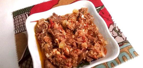 Мясо с подливкой рецепт с фото