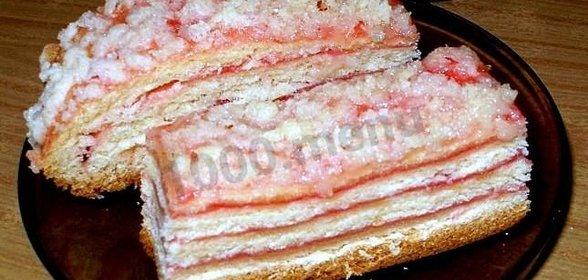 Рецепт вкусного пирога с повидлом