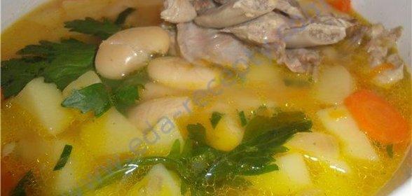 рецепты мясного супа из свинины