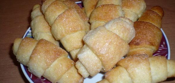 Рогалики на сметане рецепт с фото