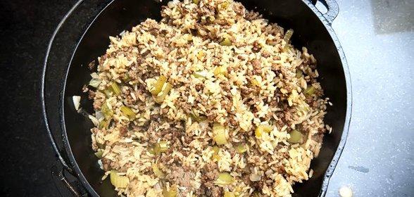 Рис с овощами рецепт пошагово фаршем