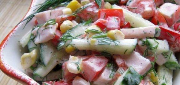 Рецепты вкусных салатов с фото по шагов