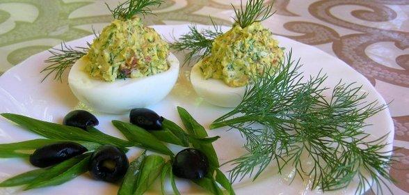 Пошаговый рецепт с фото фаршированные яйца