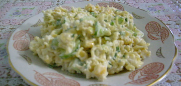 Салат с мивины фото рецепт