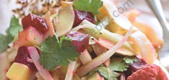 Салат из свеклы и картофеля рецепт