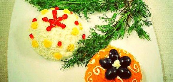 Фото салат новогодний рецепт с пошагово